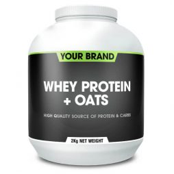 Whey Protein + Oats