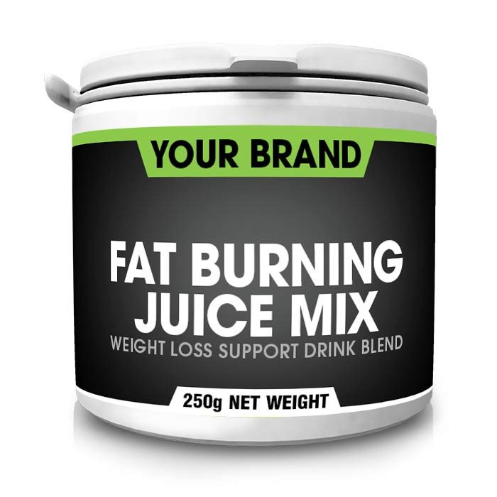 Private-Label-Fat-Burning-Juice-250g-white
